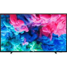 Televizor LED Smart Philips 55PUS6503/12, 139 cm, 4K Ultra HD, Negru