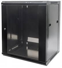 Cabinet metalic Intellinet 12U 711869, Black