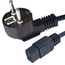 Cablu alimentare Gembird PC-186-C19, 1.8m, bulk, C19, 16A, Black