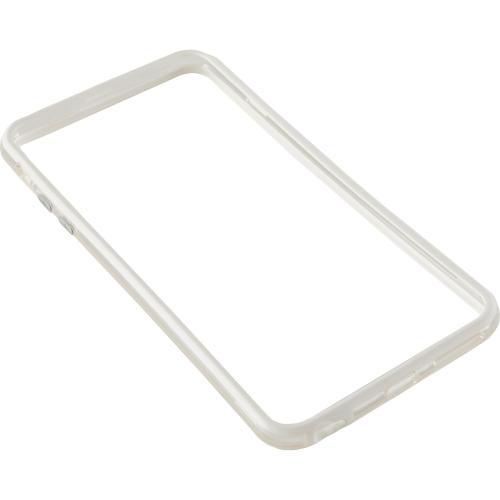 Bumper silicon Serioux SRXA-IPH6PBMPSWHT pentru iPhone 6 Plus, Alb