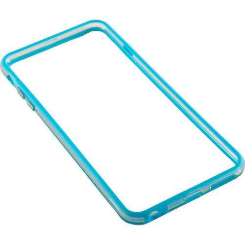 Bumper silicon Serioux SRXA-IPH6PBMPSLBLU pentru iPhone 6 Plus, Blue