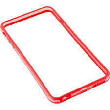 Bumper silicon Serioux SRXA-IPH6BMPSRED pentru iPhone 6, Rosu