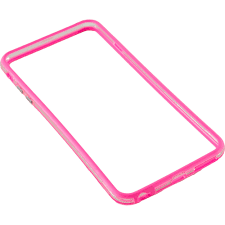 Bumper silicon Serioux SRXA-IPH6BMPSPNK pentru iPhone 6, Roz