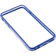 Bumper silicon Serioux SRXA-IPH6BMPSBLUE pentru iPhone 6, Albastru