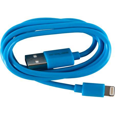 Cablu de date/incarcare Serioux SRXA-MFI1MBUE, port Lightning, compatibil Apple, Albastru