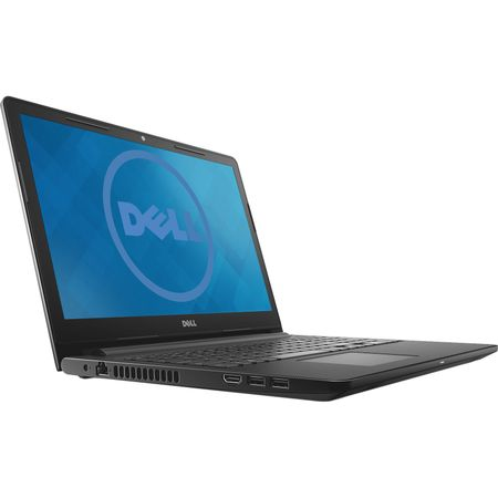 "Laptop Dell Inspiron 3576, 15.6"" LED FullHD, Intel Core i5-8250U 1.6GHz, RAM 8GB, SSD 256GB, AMD Radeon 520 2GB, DRW, Ubuntu, Black"
