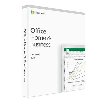 Licenta retail Microsoft Office 2019 Home and Business English Medialess