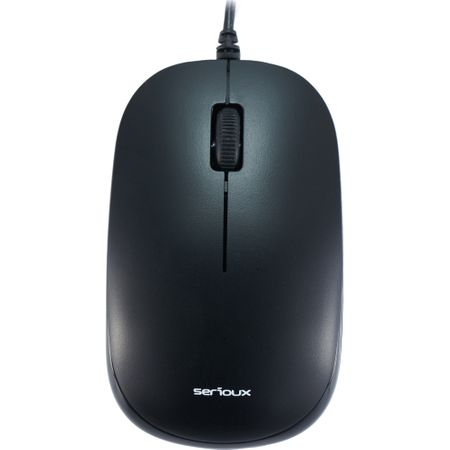 Mouse optic Serioux SRX9800MBK, Negru