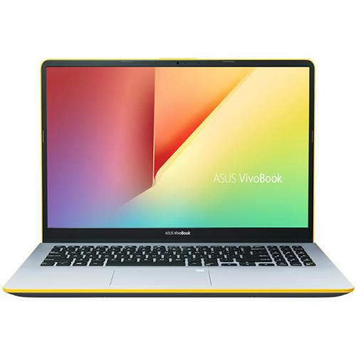 "Notebook ASUS S530FA-BQ005, 15.6"" FHD, Intel Core I5-8265U 1.6GHz, Intel HD Graphics, RAM 8GB, SSD 256GB, Tastatura iluminata, Silver,/Yellow ENDLESS"