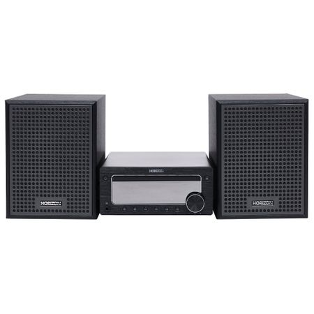 Microsistem HiFi Horizon Acustico HAV-M7700, 2.0, 50W, BT, AUX, USB, CD, Black