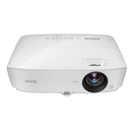 Videoproiector BenQ MW535 + geanta, DLP, WXGA (1280x800), 3600lm, 15000:1, VGA/HDMI, Alb