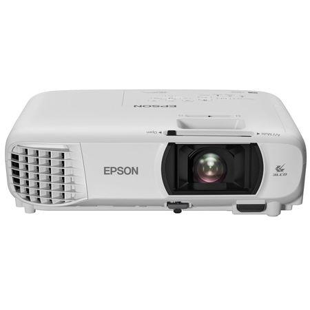 Videoproiector Epson EH-TW610, 3LCD Full HD, 3000lm, 10000:1, wireless integrat, Alb