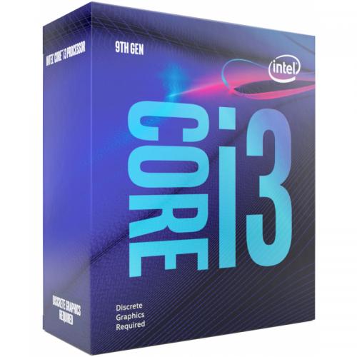 Procesor Intel Core i3 i3-9100F, 3.60GHz, 6MB, Socket LGA1151