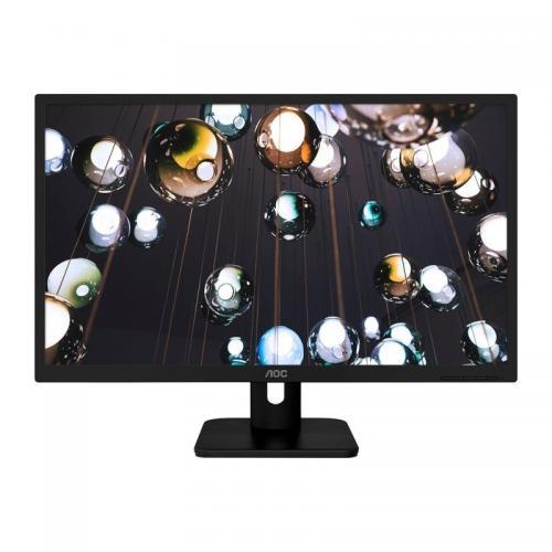 """Monitor LED AOC 22E1D, 21.5"""", Black"""