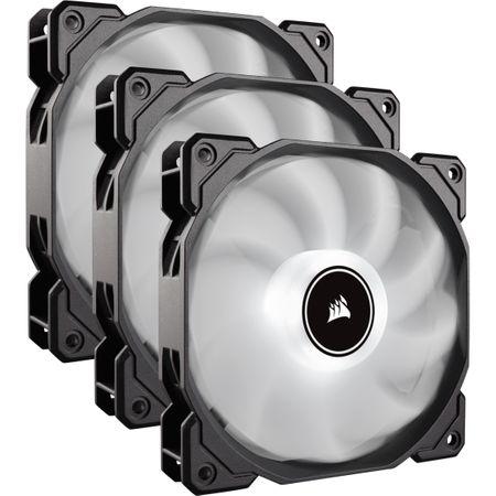 Ventilator PC Corsair AF120, Triple Pack - White