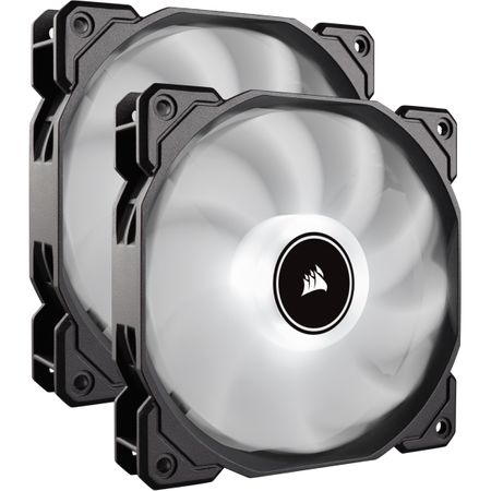 Ventilator PC Corsair AF140, Dual Pack - White
