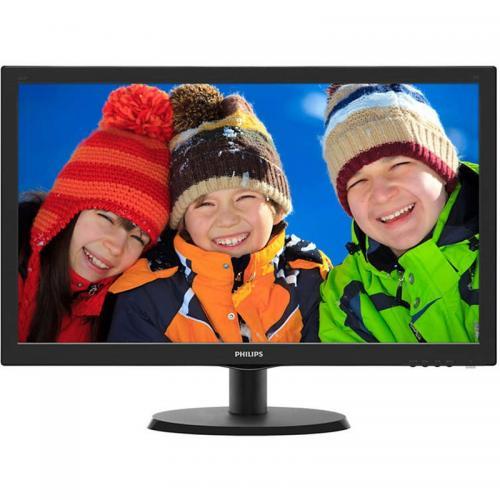"""Monitor LED Philips 223V5LHSB2/01, 21.5"""", Black"""
