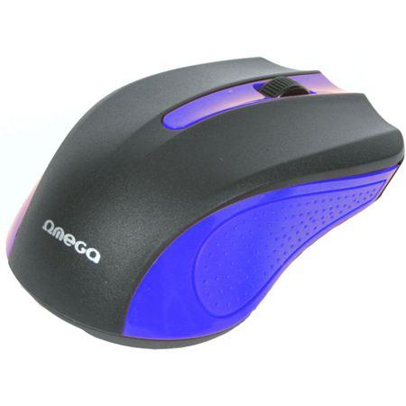 Mouse Omega Value OM05BL, Negru/Albastru