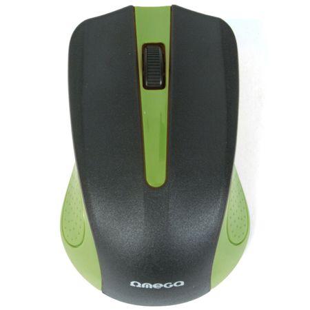 Mouse Omega Value OM05G, Negru/Verde