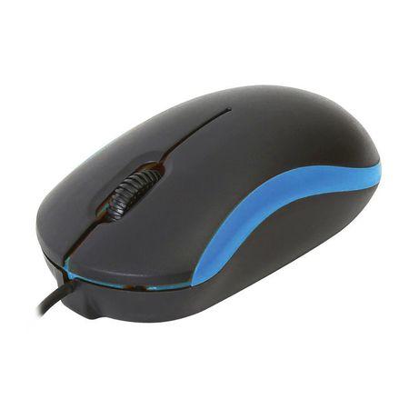 Mouse Omega OM07VBL, Negru/Albastru