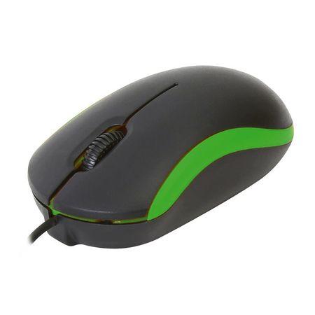 Mouse Omega OM07VG, Negru/Verde