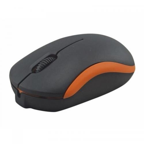 Mouse Omega OM07VO, Negru/Portocaliu