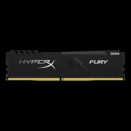 Memorie Kingston HyperX FURY Black HX426C16FB3/4, 4GB DDR4, 2666MHz, CL16