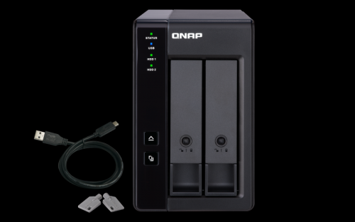 Network Attached Storage Qnap TR-002, Black