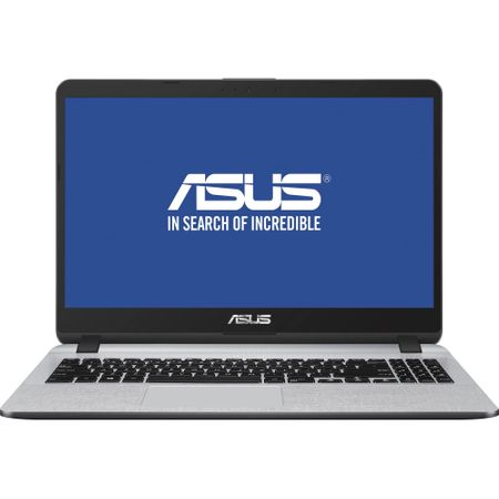 "Notebook ASUS X507UA-EJ830, 15.6"" FullHD LED, Intel Core i7-8550U 1.8GHz 4C/8T (pana la 4GHz), RAM 8GB DDR4, SSD 256GB, video Intel UHD Graphics 620, EndlessOS"