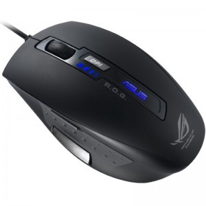 Mouse Asus GX850, Black