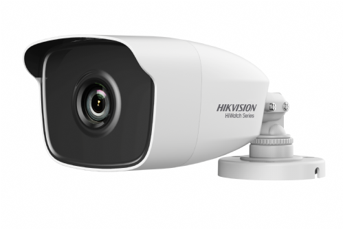 Camera de supraveghere IP Hikvision HiWatch Series Turbo HD Bullet HWT-B210-28, White