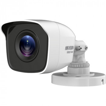 Camera de supraveghere IP Hikvision HiWatch Series Turbo HD Bullet HWT-B110-M-28, White