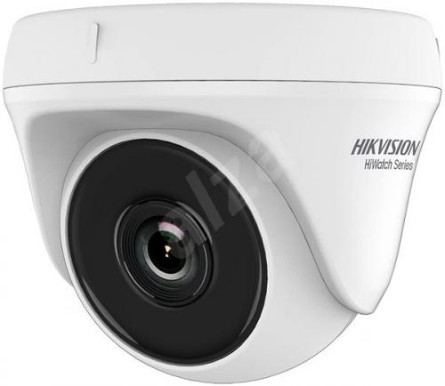 Camera de supraveghere IP Hikvision HiWatch Series Turbo HD Dome HWT-T140-P-28, White