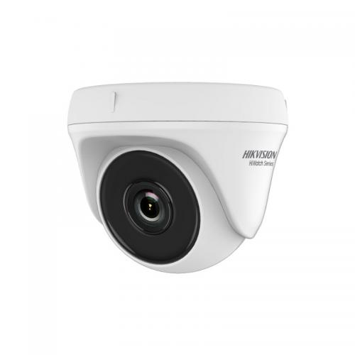 Camera de supraveghere IP Hikvision HiWatch Series Turbo HD Dome HWT-T140-M-28, White
