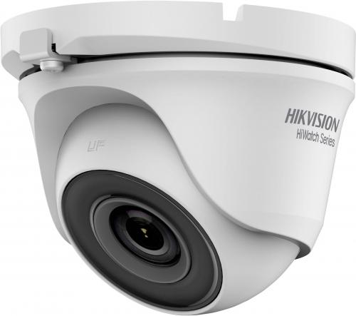 Camera de supraveghere IP Hikvision HiWatch Series Turbo HD Dome HWT-T110-M-28, White