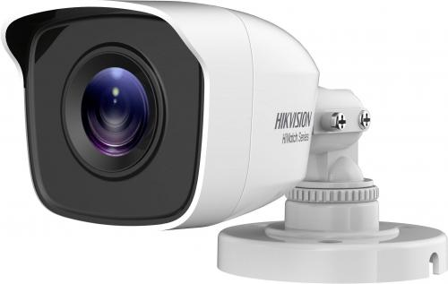 Camera de supraveghere IP Hikvision HiWatch Series Turbo HD Bullet HWT-B110-P-28, White