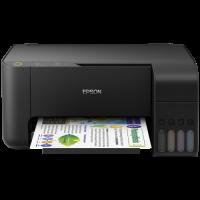 1 x Multifunctional inkjet color Epson EcoTank CISS L3110, A4, viteza 10ppm a/n, 5ppm color, USB 2.0
