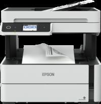 1 x Multifunctional inkjet alb-negru Epson EcoTank CISS M3140, A4 (Printare, Copiere, Scanare, Fax), duplex, viteza 20ppm, ADF, USB 2.0