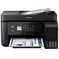 1 x Multifunctional inkjet color CISS Epson L5190, A4, printare, copiere, scannare, fax, 10/5ppm, ADF, USB2.0, LAN, wireless