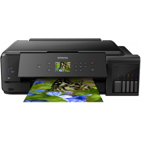 Multifunctional inkjet color CISS Epson L7180, A3, printare, copiere, scannare, 13ppm, USB 2.0, LAN, wireless