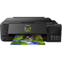 1 x Multifunctional inkjet color CISS Epson L7180, A3, printare, copiere, scannare, 13ppm, USB 2.0, LAN, wireless