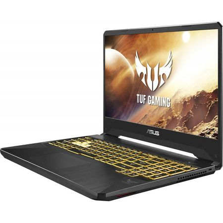 "Notebook Gaming ASUS TUF FX505DU-AL079, 15.6"" FHD, AMD Ryzen 7 3750H 2.3/4 GHz, RAM 16GB, SSD 512GB, video GTX1660TI 6GB DDR6, Tastatura iluminata, fara OS"