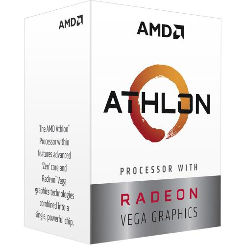 Procesor Amd Athlon 3000G YD3000C6FHBOX, 3.5GHz, 5MB, Socket AM4