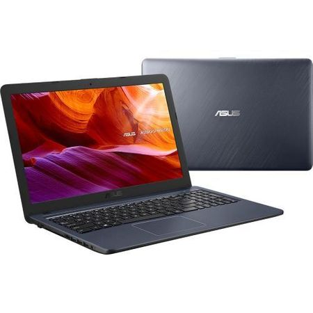 "Notebook ASUS X543MA-GO776, 15.6"" HD, Intel Celeron Dual Core N4000 1.1GHz (up to 2.6GHz, 4MB), RAM 4GB DDR4, HDD 500GB, video integrat Intel HD Graphics, EndlessOS"