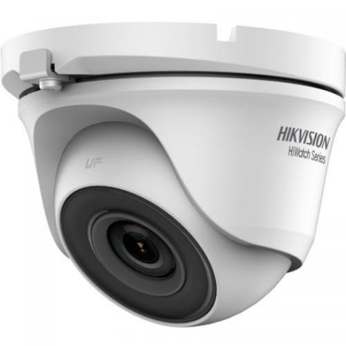 Camera de supraveghere IP Hikvision HiWatch Series Turbo HD Dome HWT-T120-M-28, White
