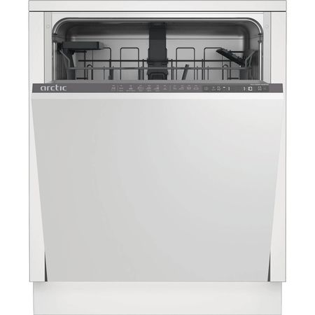 Masina de spalat vase incorporabila Arctic DBI64A+, 14 seturi, 5 programe, Clasa A+, Motor Silent Inverter, 60 cm, Gri