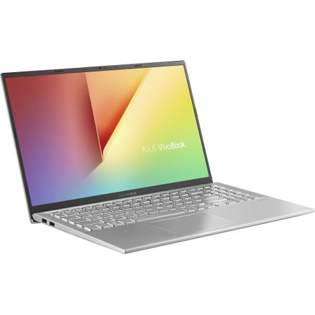 "Notebook ASUS VivoBook 15 X512FA-EJ992, 15.6"" FullHD LED, Intel Core i3-8145U 2.1GHz 2C/4T (pana la 3.9GHz), RAM 4GB DDR4, SSD 256GB, video Intel Graphics, FP, tastatura iluminata, silver"