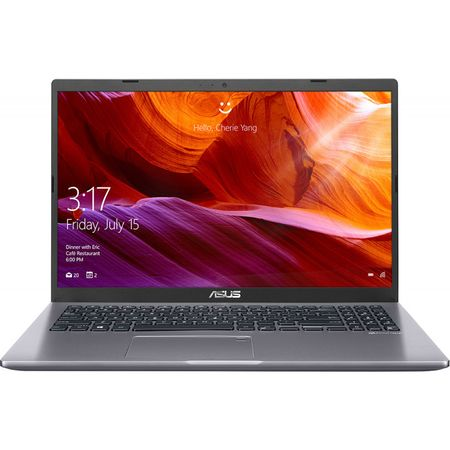 Notebook ASUS M509DA-EJ345, 15.6 FHD, AMD Ryzen 3-3250U 2.6GHz, RAM 4GB DDR4, SSD 256GB, video integrat AMD Radeon Vega 3, Slate Gray, fara OS