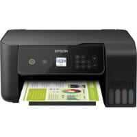 1 x Multifunctional inkjet color Epson EcoTank CISS L3160, A4, viteza 10ppm a/n, 5ppm color, LCD, USB 2.0, WI-FI direct