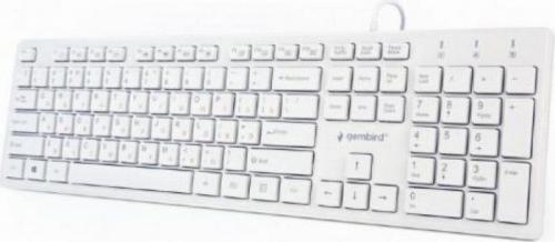 Tastatura Gembird Chocolate KB-MCH-03-W, White